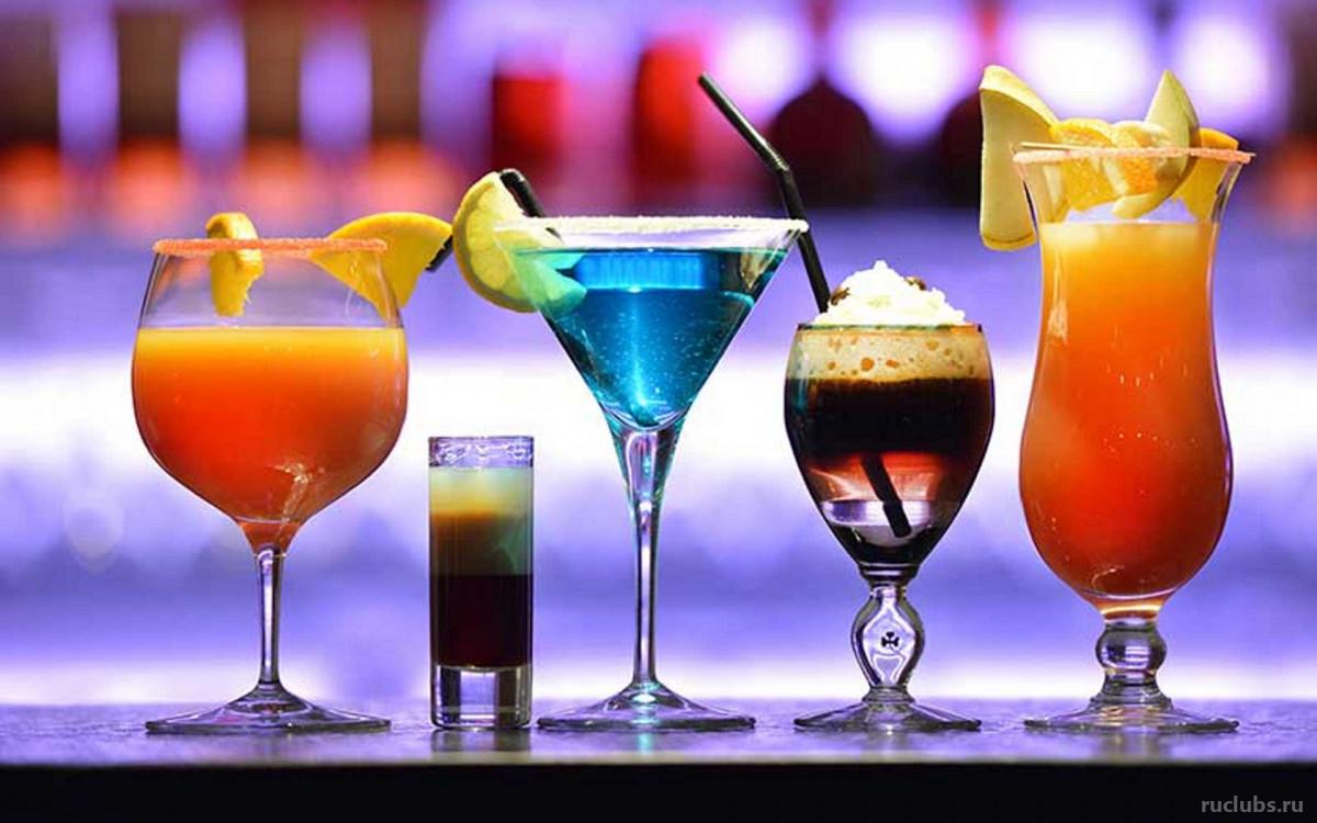 Самые популярные барные коктейли